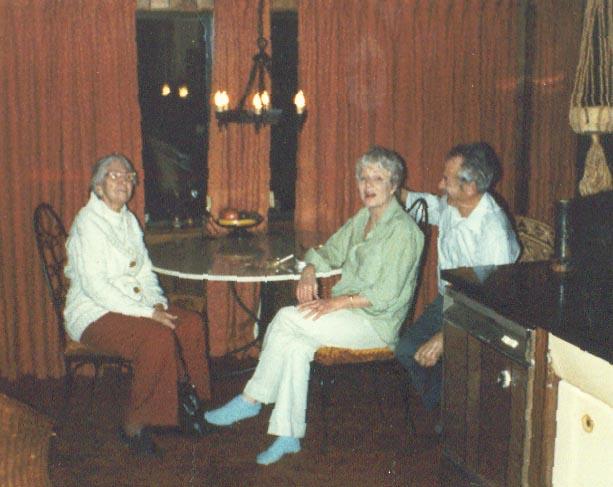 Aunt Grace Jane & James Beard Jr 1982
