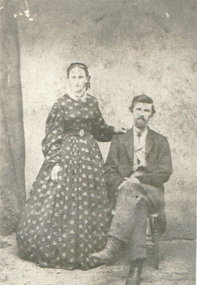 John Jacob & Lucinda Katherine(Lehr)Martin married 1860